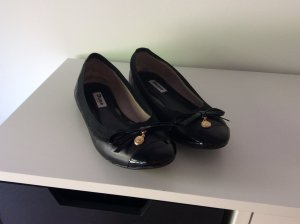 Schwarze  Ballerinas von Dune - Größe 40