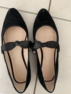 Schwarze Ballerinas von Mint&Berry, Grösse 37