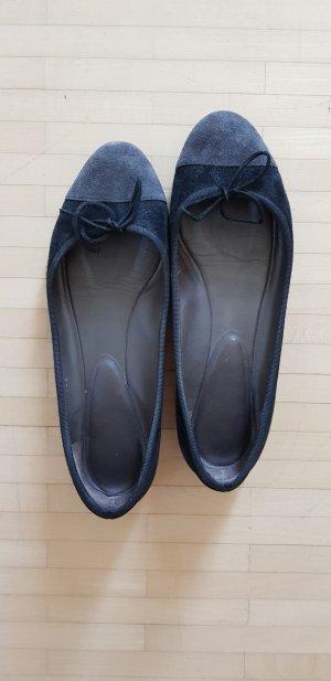 Schwarze Ballerinas von Unützer in Gr. 38,5
