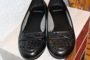 Vagabond Ballerines noir cuir