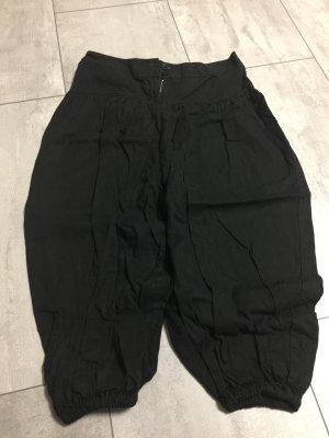 Schwarze Ballonhose / Baumwolle