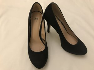 Schwarze Basic Heels, 36, Black