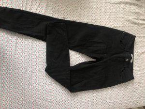 Schwarze Basic Jeans
