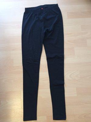 schwarze Basic Leggings von H&M