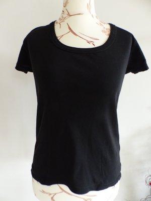 schwarze Basic T-Shirt / Shirt von Kenvelo - Size L