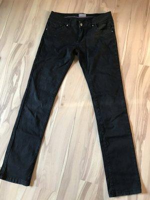 Schwarze Baumwolle Jeans