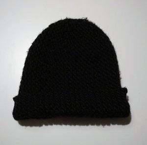 schwarze Beanie Mütze von H&M