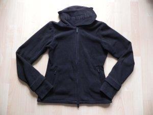 Schwarze Bench Fleece Jacke