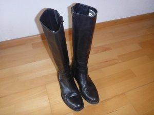 Schwarze Benetton Stiefel
