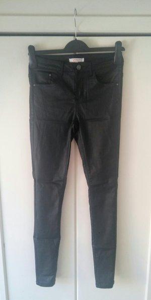 schwarze beschichtete Jeans von C&A