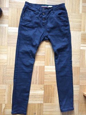 Schwarze, beschichtete Jeans von Please