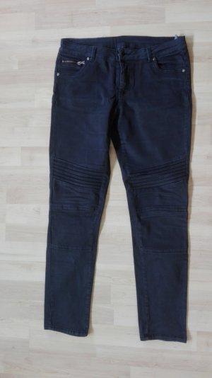 Takko Jeans de moto noir