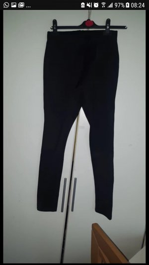 Schwarze Biker jeggings/leggings