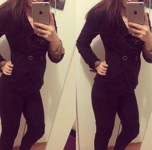 Schwarze Blazer Jacke
