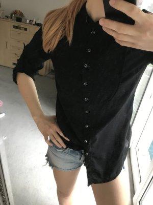 schwarze Blogger Bluse NEU - nicht getragen