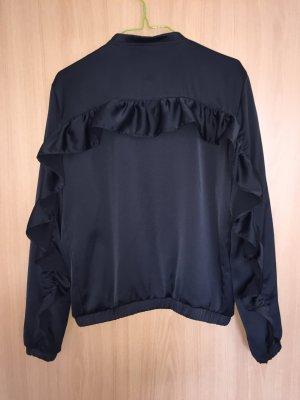 Schwarze Blouson Jacke