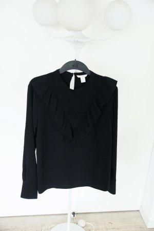 Schwarze Bluse, 44, neu