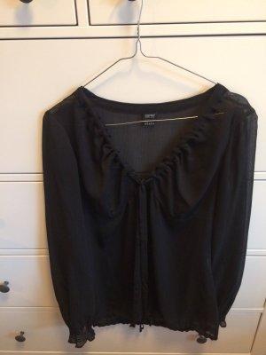 Schwarze Bluse Esprit Größe 34