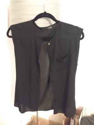 schwarze Bluse Gr. 34