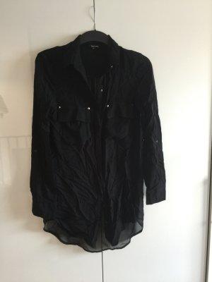 Schwarze Bluse Gr. 38
