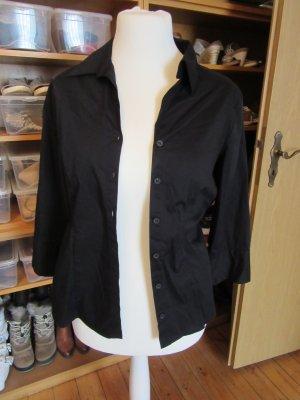 schwarze Bluse Gr.46 von H&M