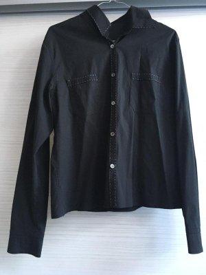 schwarze Bluse, Gr. M