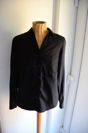 Schwarze Bluse Gr. XS