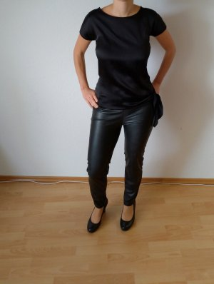 Schwarze Bluse Hallhuber XS