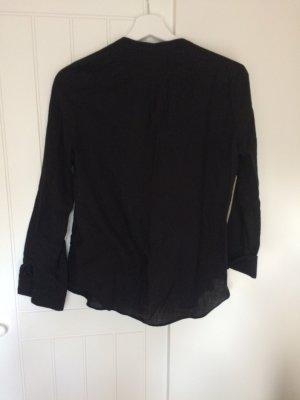 Schwarze Bluse/Hemd aus 100% Baumwolle