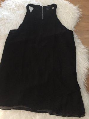 Schwarze Bluse kurzarm
