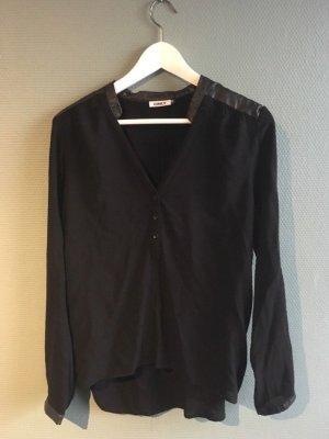 Schwarze Bluse Only