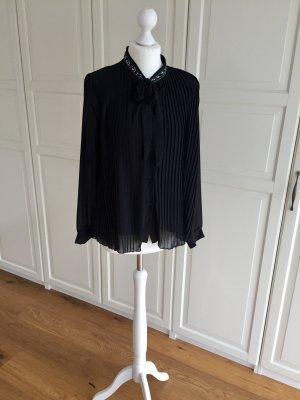 new collection Blusa transparente negro
