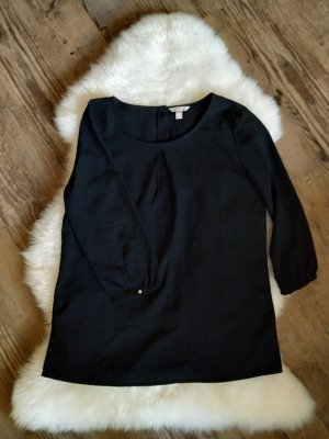 schwarze Bluse Shirt T-Shirt Hemd Longleeve mit goldenen Knöpfen Esprit Größe 36 s, wie neu ‼️‼️