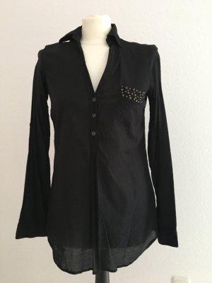 Schwarze Bluse tally Weijl