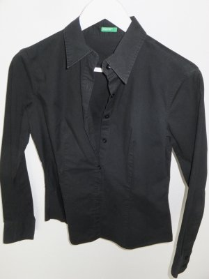 Schwarze Bluse von Benetton
