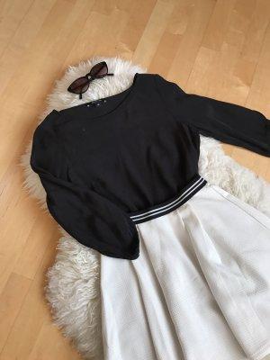 Schwarze Bluse von Comma