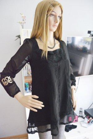 Schwarze Bluse von Danity gr.S gothic