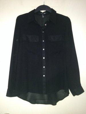 Schwarze Bluse von Forever 21