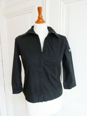 Schwarze Bluse von GAS