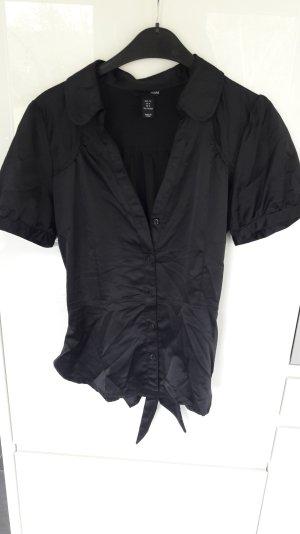 schwarze Bluse von H&m