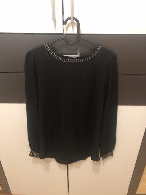 Schwarze Bluse von Hallhuber