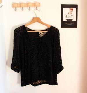 Schwarze Bluse von Inwear