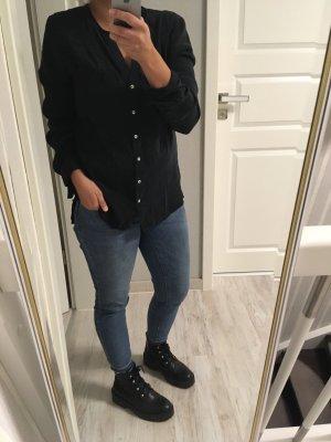 Schwarze Bluse von Kiomi
