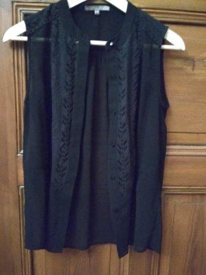 Schwarze Bluse von Mint&Berry, Gr.36
