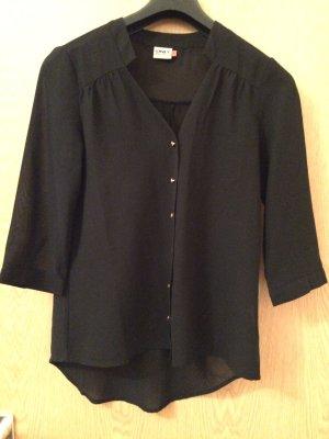 Schwarze Bluse von Only