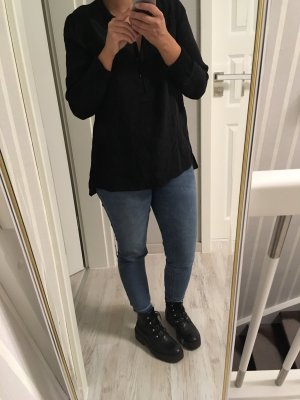 Schwarze Bluse von Patrizia Dini