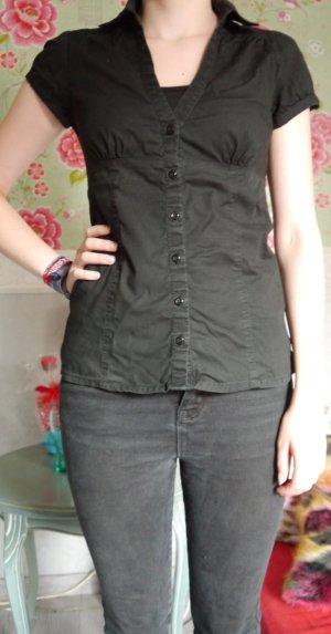 Schwarze Bluse von Pimkie