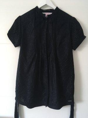 Schwarze Bluse von Superdry Größe 36