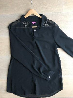 Schwarze Bluse von Suzanna Größe 36