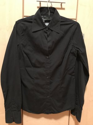 Tommy Hilfiger Long Sleeve Blouse black cotton